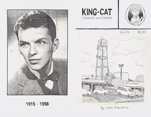 John Porcellino, King-Cat 54 Covers