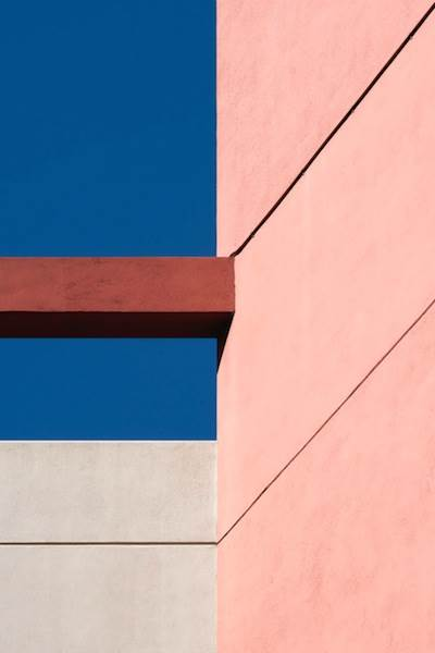 Jon Setter, Pink with Blue