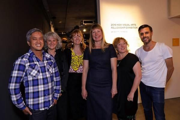 NSW Visual Arts Fellowship 2018 Shortlist