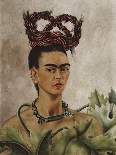 Frida Kahlo, Self-portrait with braid xxx