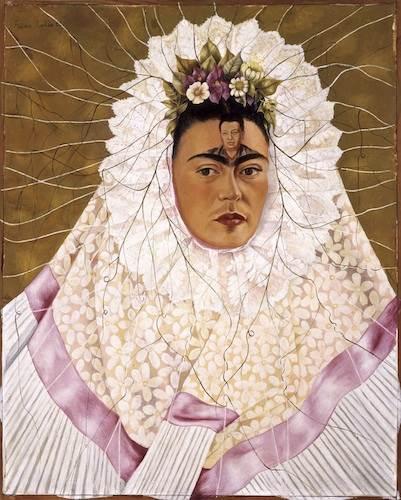 Frida Kahlo, Diego on my mind (Self-portrait as Tehuana)