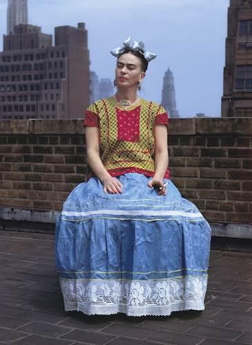 Nickolas Muray, Frida Kahlo in New York