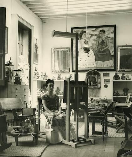 Fritz Henle, Frida in her Studio
