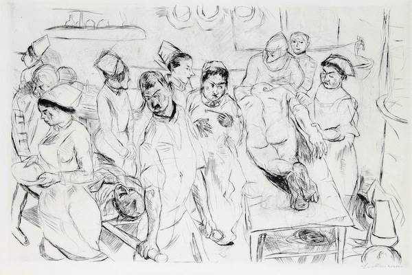 Max Beckmann, Grosse Operation (Large Operation)