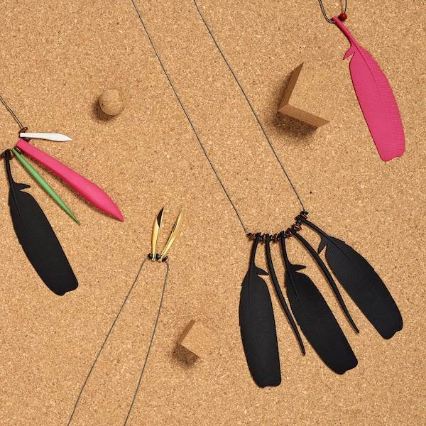 Maree Clark, Necklaces from Thung-ung Coorang