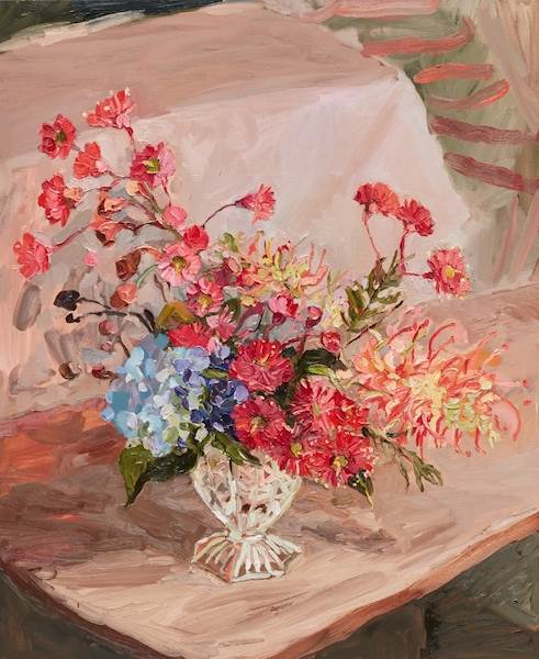 Laura Jones, Grevillea Flowering Gum and Hydrangea