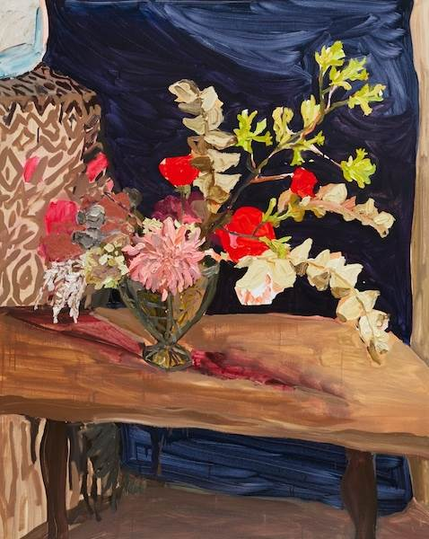 Laura Jones, Kangaroo Paw and Mulla Mulla with Roses and Dahlia