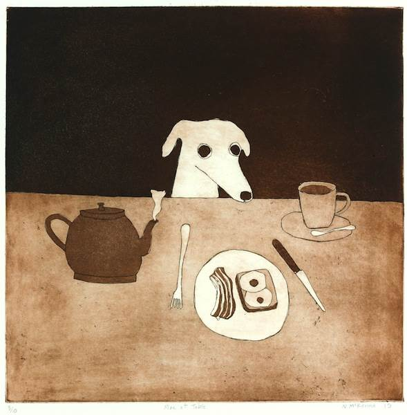 Noel McKenna, Max at table