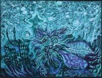 George Gittoes, Starry Night  Baghdad