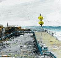 Queenscliff, 2013, oil on canvas, 51 x 38cm