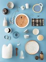 Summer Light Flatlay, concept by Sarah Weston, styled by Rebecca Jobson, photography by Hilary Walker