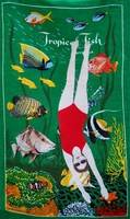 Adrienne Doig, Swimming With Fishes