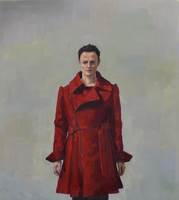 Jenny Rodgerson, bound by the big red coat, 2016
