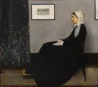 James McNeill Whistler (American 1834-1903), Arrangement in grey and black no.1