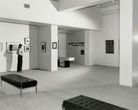 Installation view of Weaver Hawkins 1893–1977 memorial retrospective