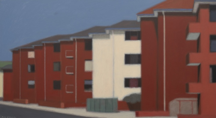 Peter O'Doherty, Row of Apartments Hillsdale