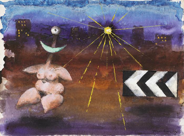 Albert Tucker, Untitled Image of Modern Evil