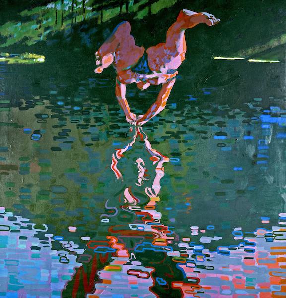 George Haynes, A swan lake