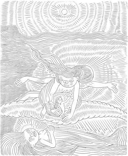 Ron Regé, Jr., Gazeta (after William Blake)