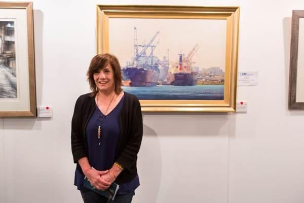 Mary Hyde, ASP Traditional Maritime Art Award
