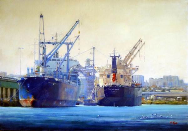 Mary Hyde, Docked and Loaded