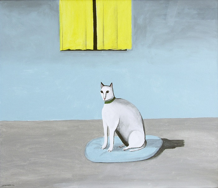 Noel McKenna, Cat in room at night