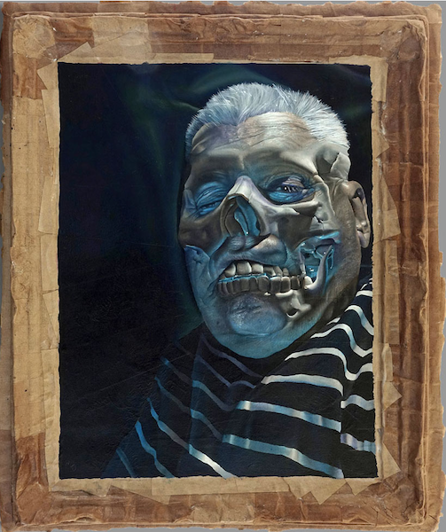 John Skillington, Self-portrait (after Francis Bacon)