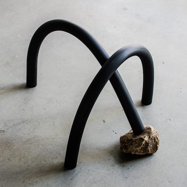 Jonathan Kim, from The Density series: Stone & Elastomeric I