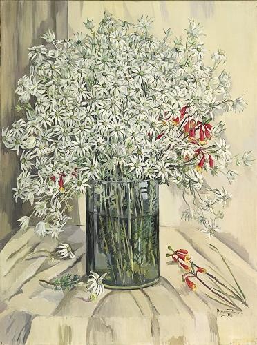 Margaret Preston, Flannel flowers