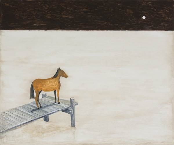 Noel McKenna, Horse on jetty