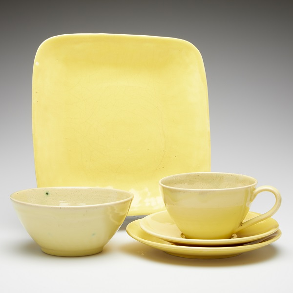 Phyl Dunn and RPreston, untitled (yellow dinner set)