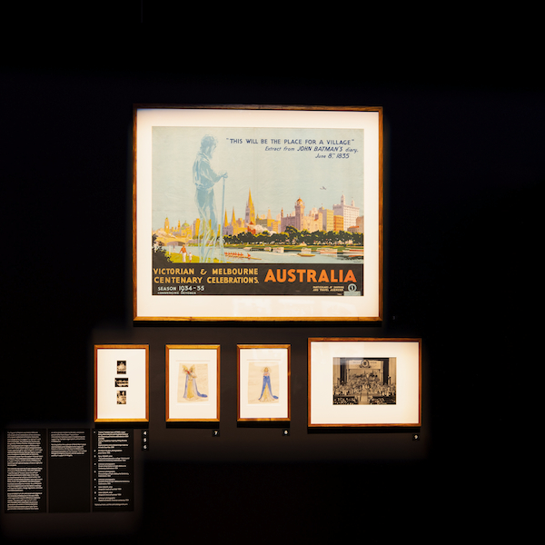 Velvet, Iron, Ashes, Melbourne centenary display