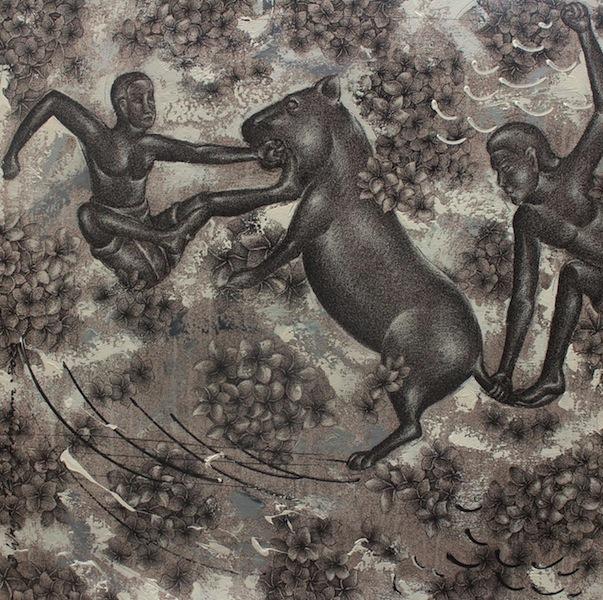 Wayan Kun Adnyana, Hunting a Tiger
