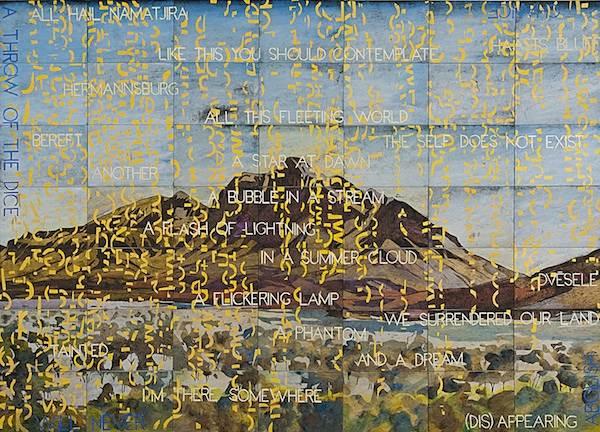 Imants Tillers The Philosopher S Walk Art Almanac