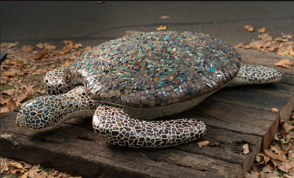 Michelle Day, Mosaic Turtle