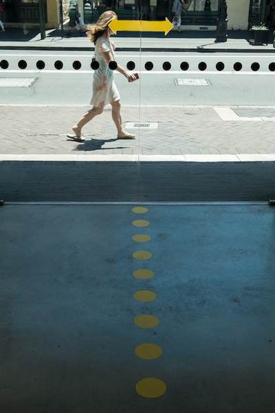 Mark Van Veen, Pedestrian Direction