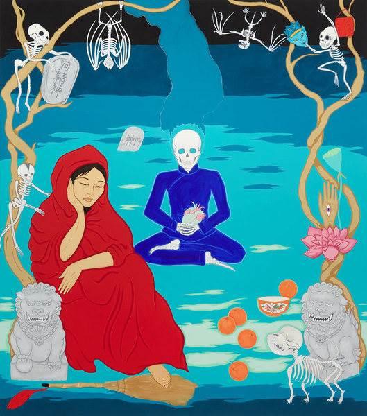 Kate Beynon, Graveyard scene/the beauty and sadness of bones