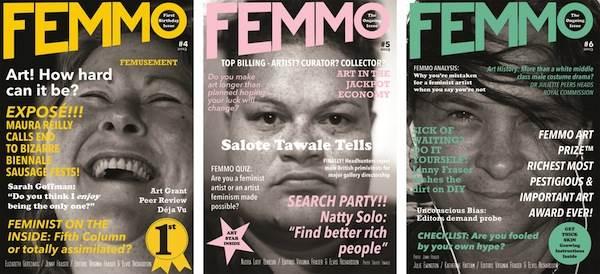 Elvis Richardson & Virginia Fraser, FEMMO™ Issue 4, 5 & 6