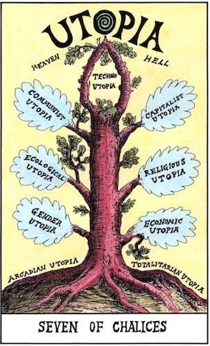 Suzanne Treister, HEXEN 2.O Tarot – Utopia